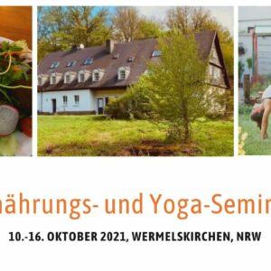ernährung yoga seminar